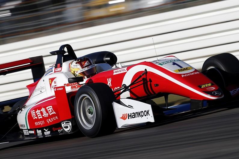 European F3 Hockenheim: Zhou wins as Schumacher's title put on hold - F3 - Autos...