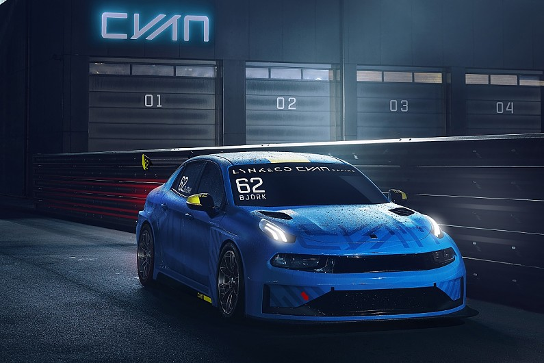 WTCC title winner Cyan Racing unveils TCR car for 2019 ...