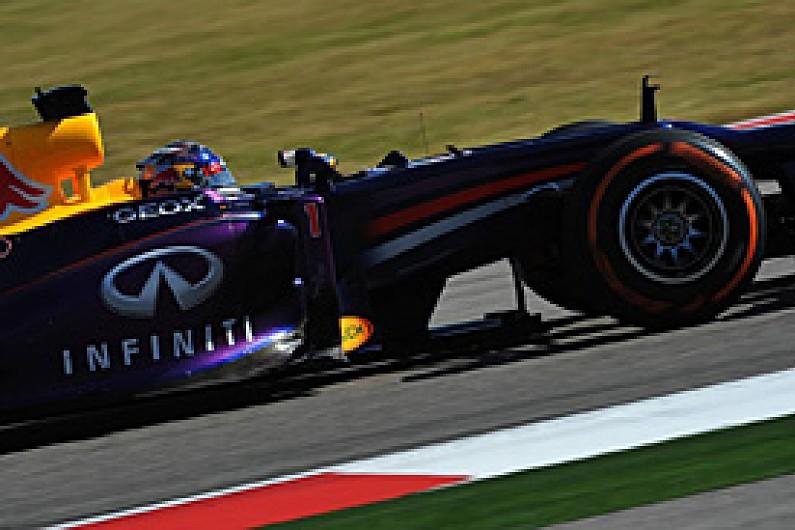 US GP: Sebastian Vettel goes fastest in second F1 practice