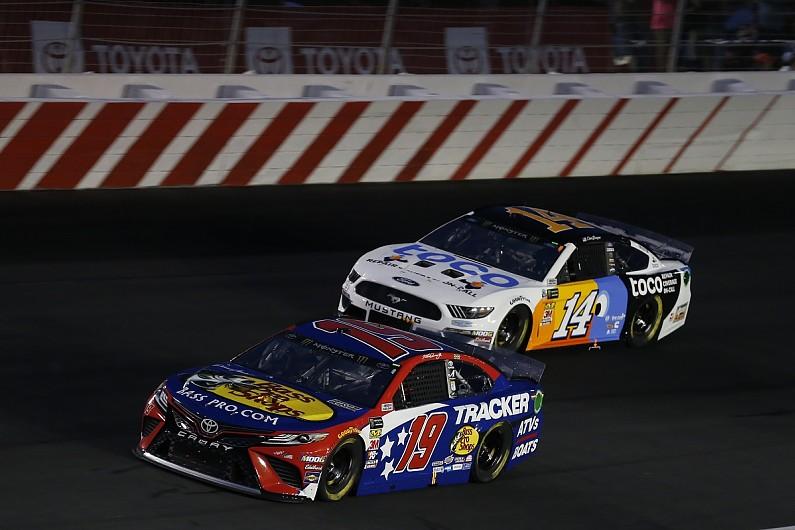 Bowyer still regrets not hitting Truex at NASCAR round in April