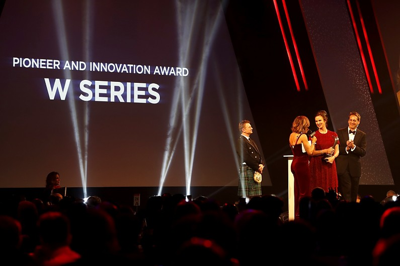 Industry awards build W Series momentum for 2020