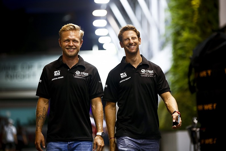 Haas F1 drivers Grosjean, Magnussen to sample NASCAR at F1's US GP