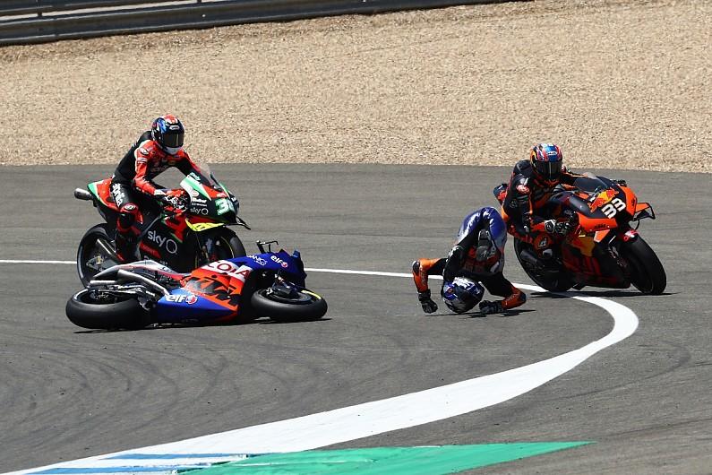 Andalusia MotoGP: Oliveira disagrees with Binder over Turn 1 clash - Motor Informed