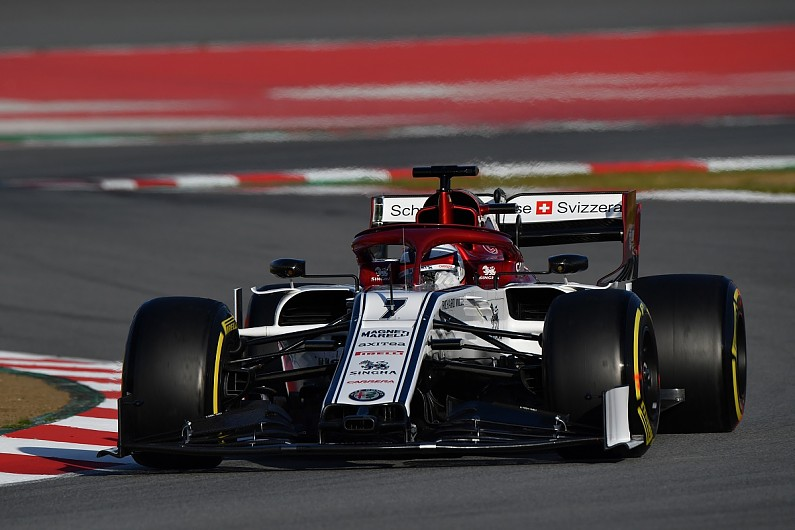 Raikkonen Alfa Romeo F1 Team Has Made Big Step From 2018 Sauber F1 Autosport