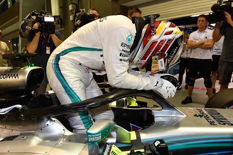 Mercedes driver Hamilton calls Singapore F1 qualifying lap ...