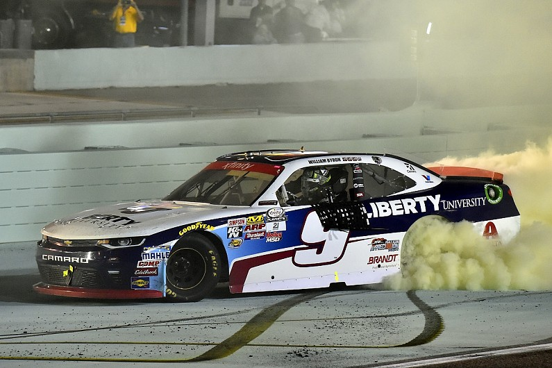 Harrison Burton Wins Pole For Iconic Snowball Derby Super Late Model Race
