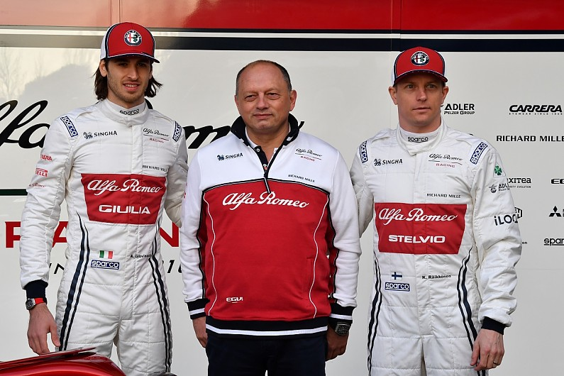 Vasseur Got Peter Sauber To Bless Alfa Romeo Formula 1 Team Rebrand F1 Autosport