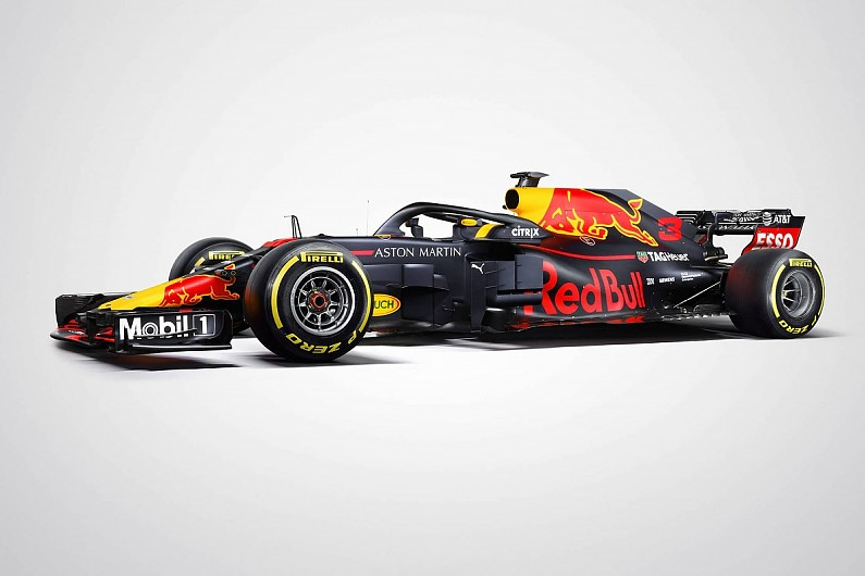 d1427a2a9a8 F1 testing 2018  Red Bull reveals its RB14 car's racing livery - F1 -  Autosport