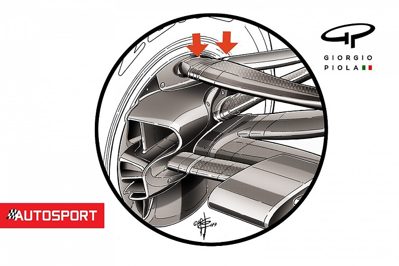 Red Bull's unique 2019 front suspension layout revealed - F1