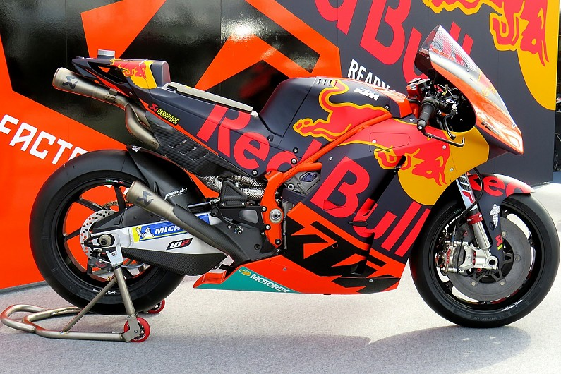 Ktm Motogp Launch Manufacturer Reveals Livery For 2018