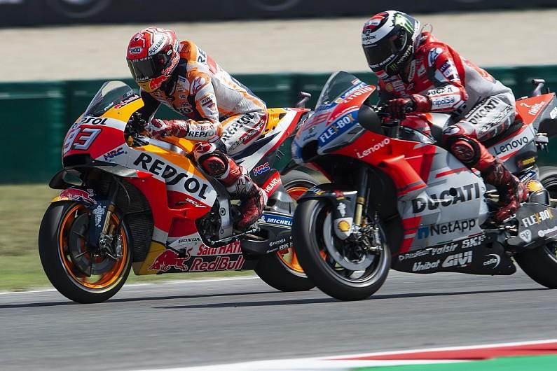 Jorge Lorenzo Grateful Marc Marquez Allowed  Honda Motogp Move Motogp Autosport