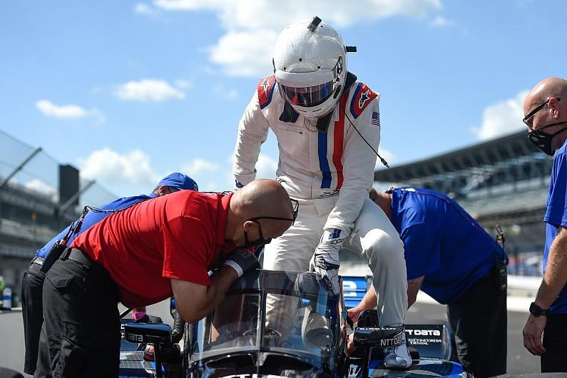 NASCAR Cup's Johnson impresses Ganassi's Hull, Dixon on maiden IndyCar run - Motor Informed