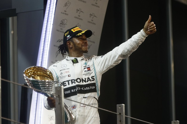 F1 champion Hamilton bags International Racing Driver of the Year