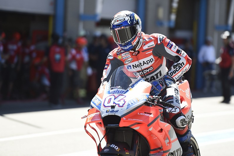 [MotoGP] 多维西奥索:杜卡迪的轮胎管理不行
