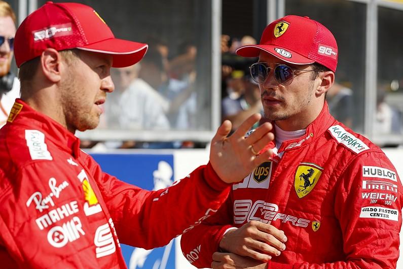 Ferrari admits Leclerc/Vettel situation will need constant managing