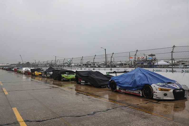 Sebring 12 Hours red flagged due to worsening weather conditions
