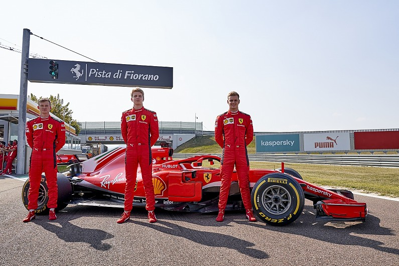 Schumacher, Ilott and Shwartzman enjoy 'unforgettable' Ferrari F1 tests - Motor Informed