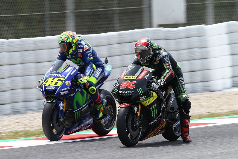 Yamaha Would Choose Valentino Rossi S Team For Motogp Over Tech3 Motogp Autosport