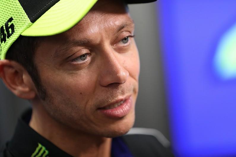 Rossi apologises for causing crash with Nakagami in MotoGP Dutch TT