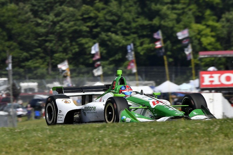 Star IndyCar rookie Herta set to part with Harding team