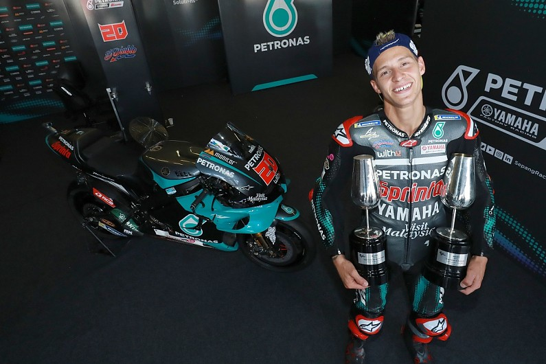 The MotoGP tyre trick that helped Quartararo to Andalusian GP victory - Motor Informed
