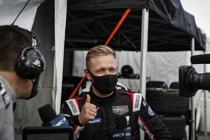 "Magnussen enjoying Cadillac IMSA car after ""easy to drive"" F1 machinery"