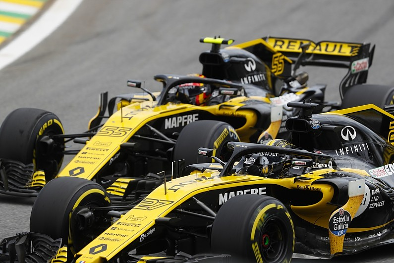 renault f1 team making 39 strong progress 39 with its 2019 car. Black Bedroom Furniture Sets. Home Design Ideas