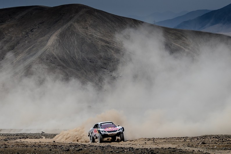 Peugeot Dakar Rally Map Rule Changes For 2018 Unsportsmanlike