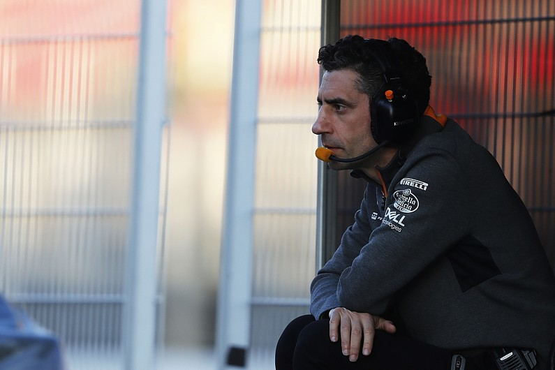 Andrea Stella es el nuevo Director de Competición en McLaren