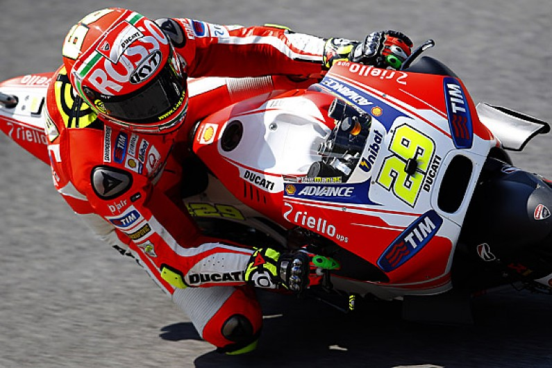 Mugello Motogp Andrea Iannone S First Pole Marc Marquez Out In Q1
