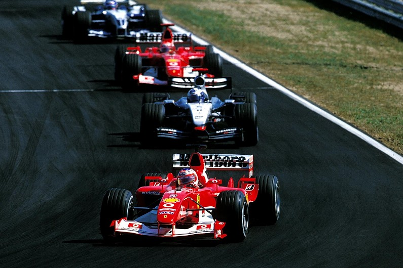 Video: How a rule change helped Ferrari to the 2003 F1 titles