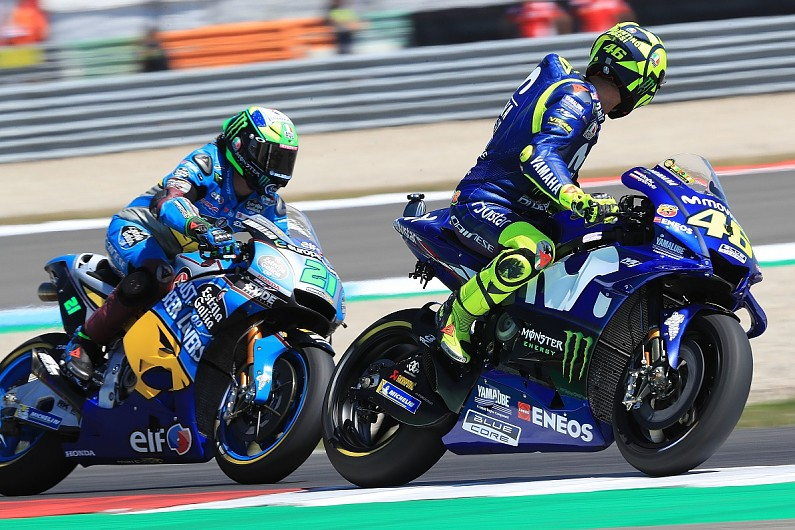 Valentino Rossi Protege Morbidelli Will Be A 2019 Motogp Problem