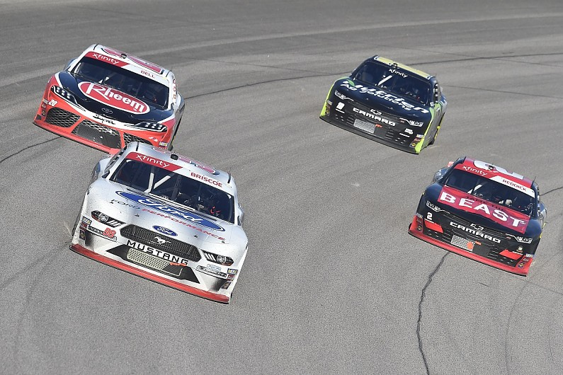 NASCAR Xfinity title rivals in post-race fight at Kansas