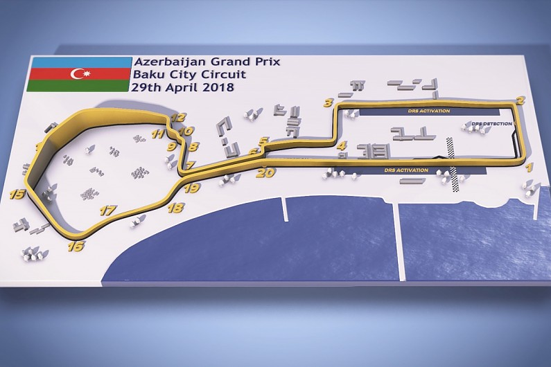 Video Guide Azerbaijan Grand Prix S Baku F1 Street
