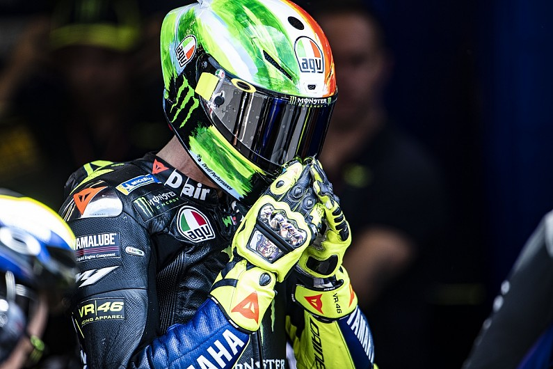 Valentino Rossi Went To Forbidden Motocross Track For