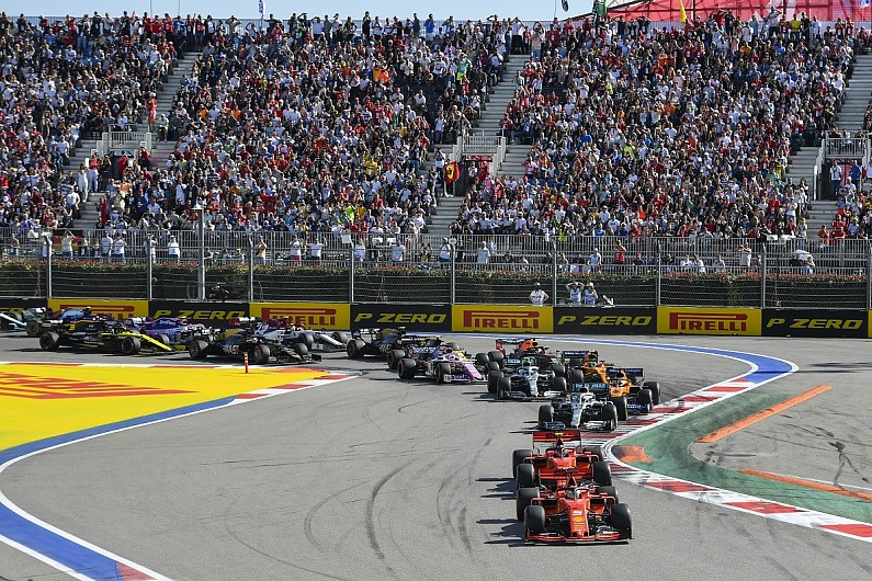 2020 F1 Russian Grand Prix Session Timings And Preview F1 Autosport