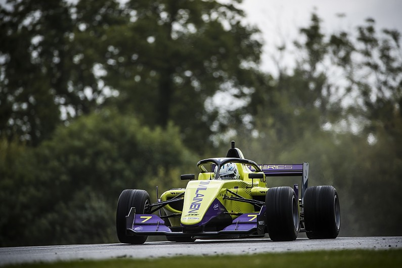 Brands Hatch W Series: Emma Kimilainen leads both practice