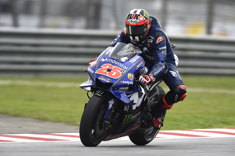 Vinales: Matching Rossi/Marquez's Malaysia MotoGP pace 'impossible'