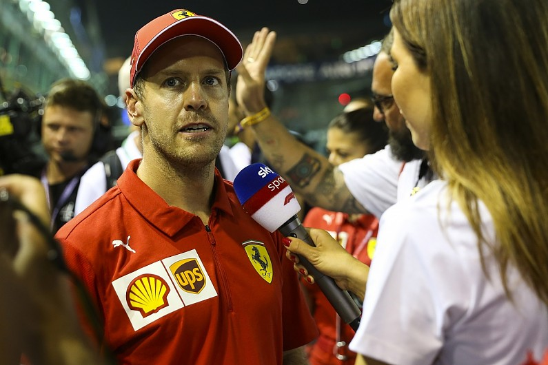 Vettel: Singapore GP win validation after being hammered over F1 form