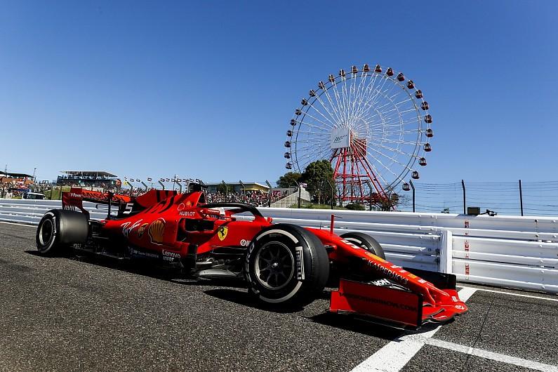 Vettel on top at Suzuka, scores Ferrari's fifth straight 2019 pole