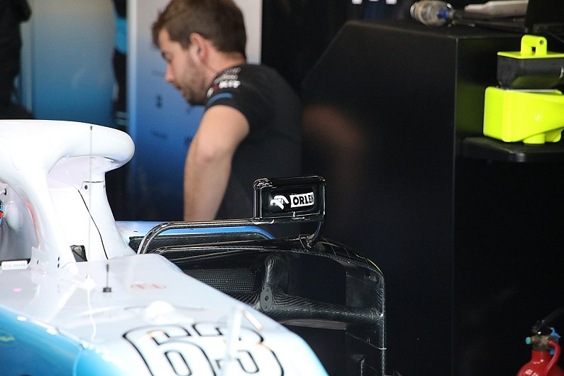 Williams F1 changes to ensure legality on display at Australian GP