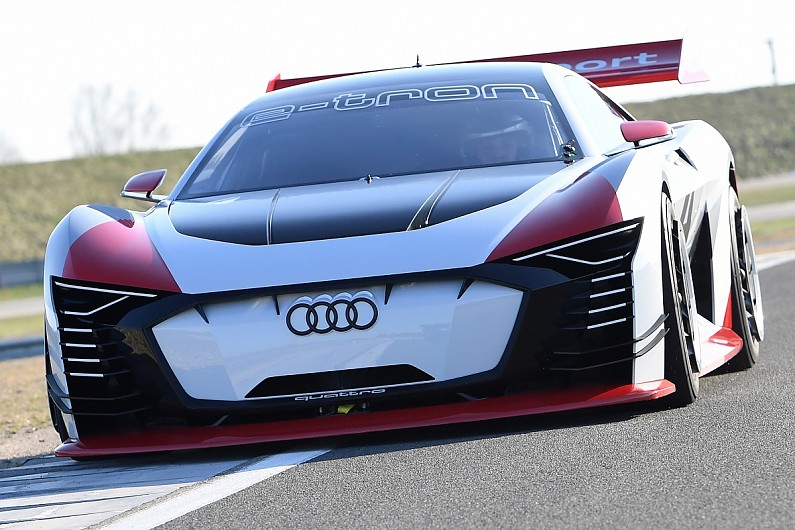 Audi Gran Turismo Concept Car To Serve As FE Taxi At European Races - Audi concept
