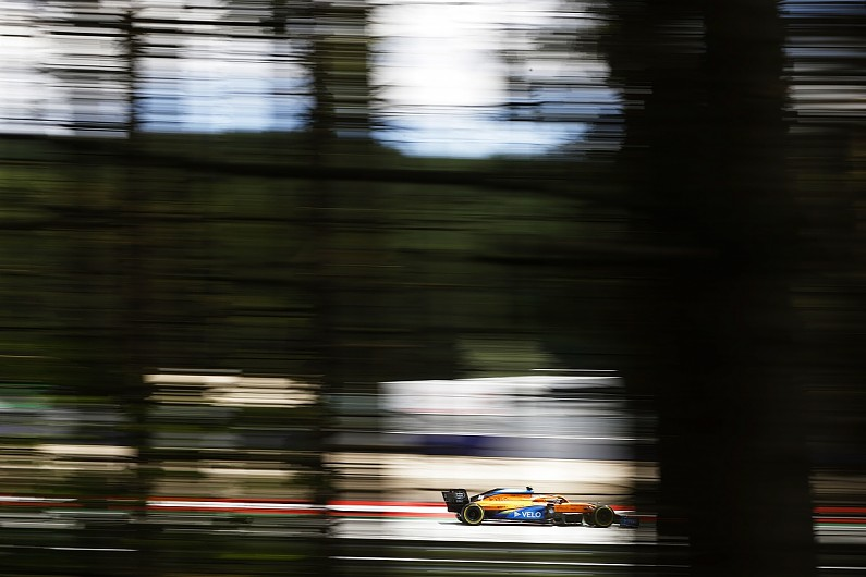 Norris surprised to outqualify Racing Point cars at F1 Austrian GP