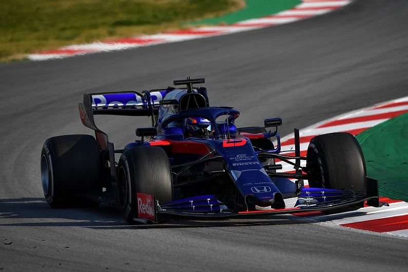 Image result for barcelona test 2019 albon