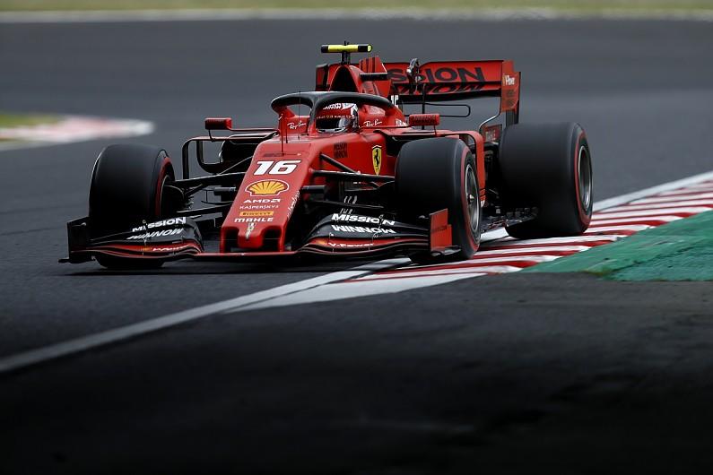"""Ferrari's """"real picture"""" Japanese GP deficit a """"surprise"""" - Leclerc"""