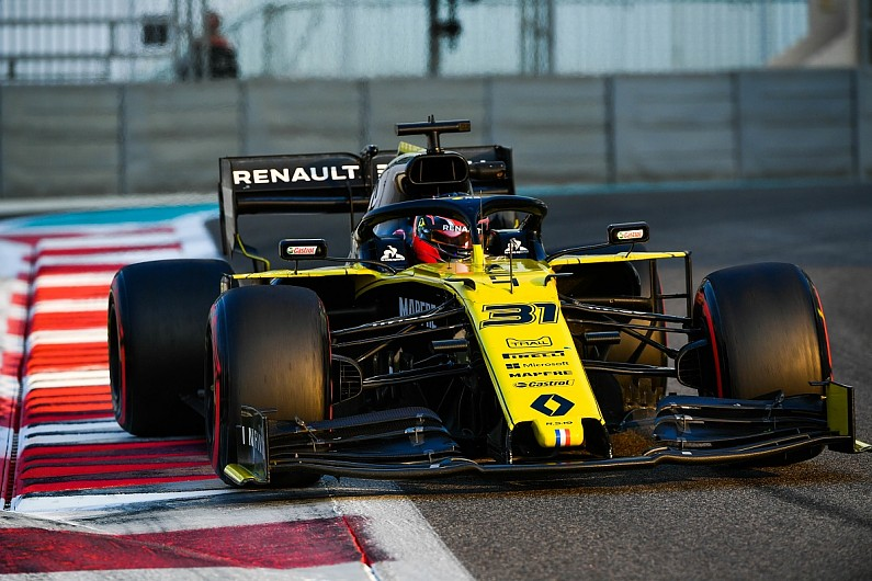 Ocon: Renault running crucial in light of big 2020 testing problem