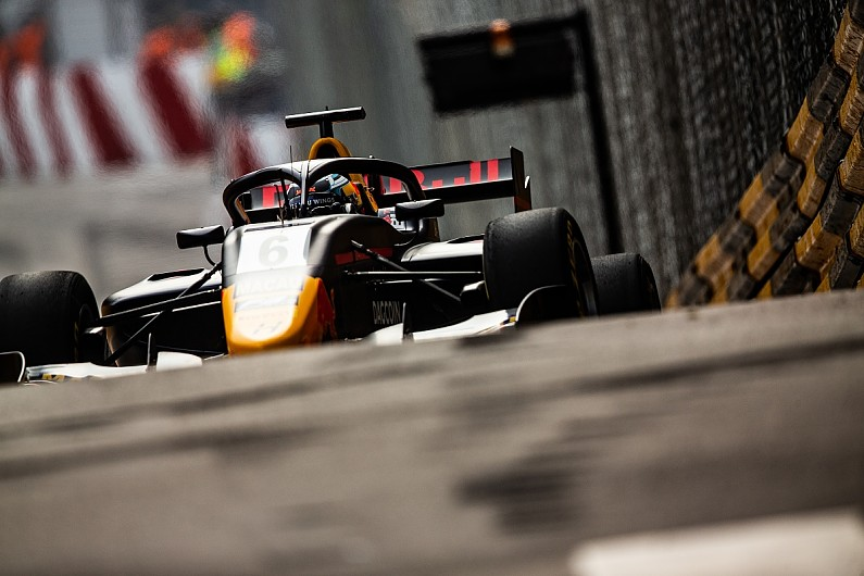 DRS deactivated during the Macau Grand Prix F3 race after failure