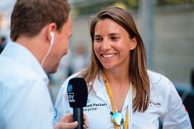 Simona De Silvestro joins Porsche as Formula E development driver