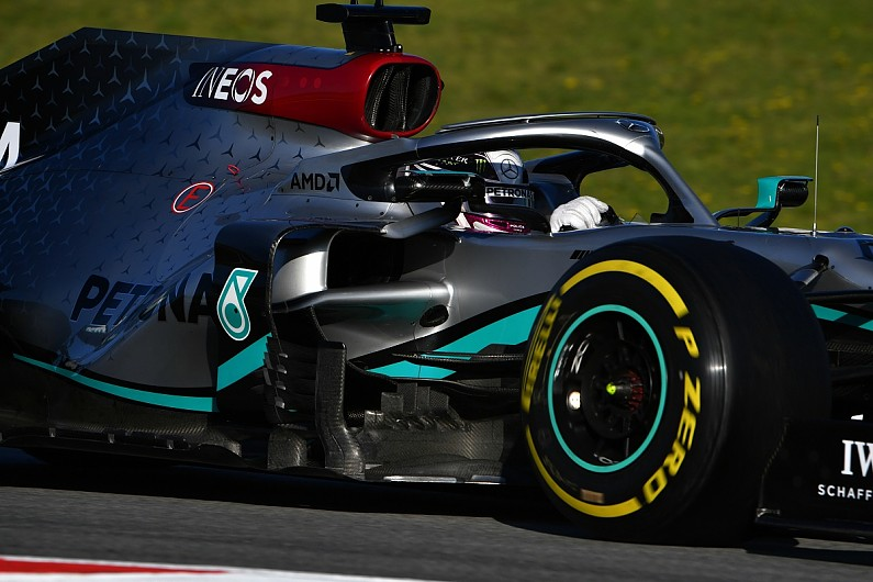 Mercedes swaps F1 engine for final day of 2020 pre-season testing