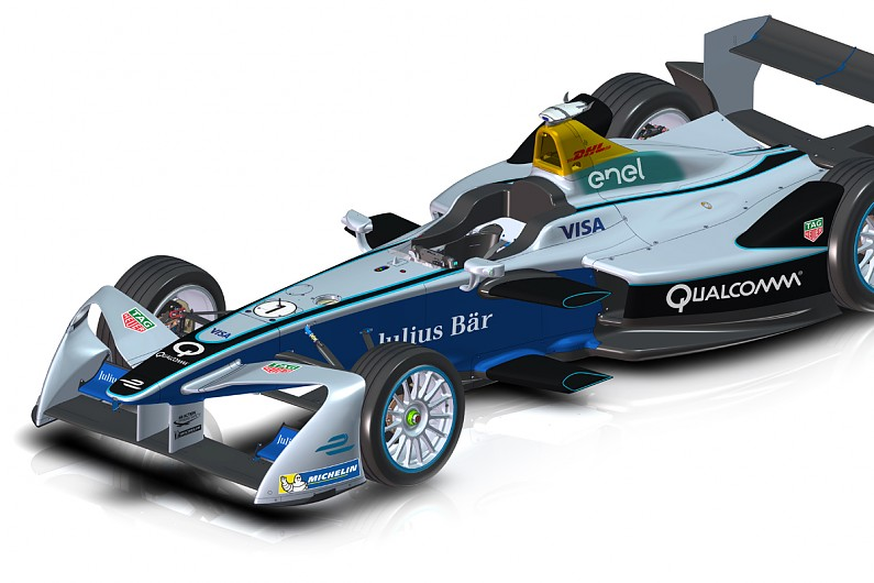 Formula E reveals 'futuristic' new front wings for season three